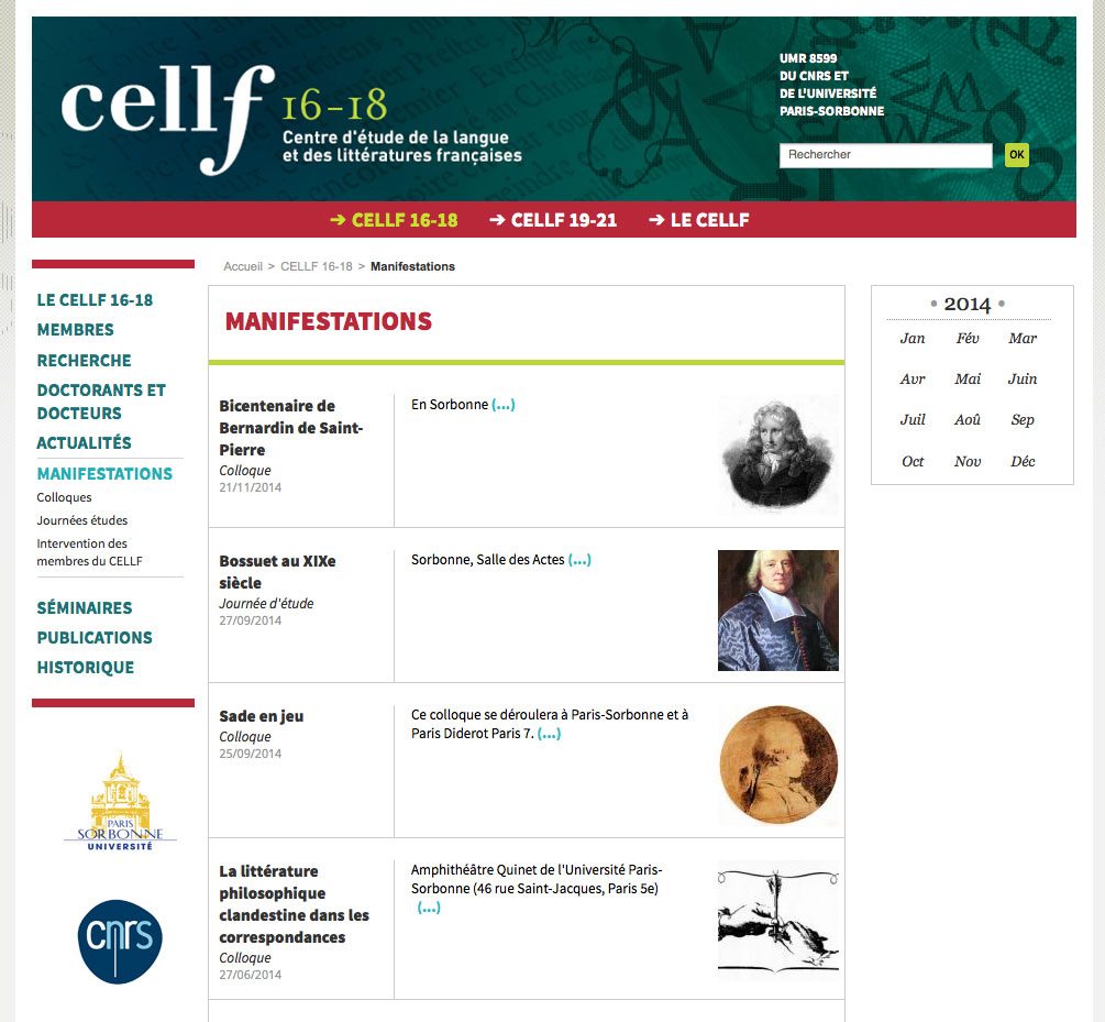 Cellf - Manifestations