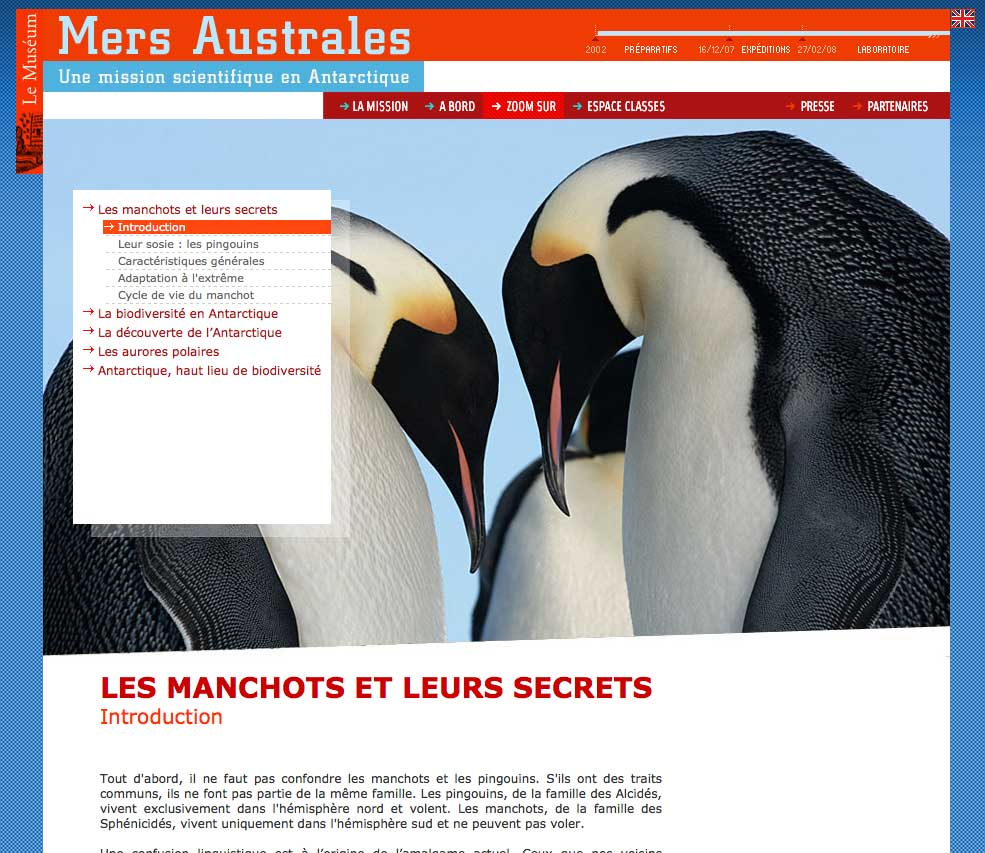 Mers Australes - A Bord